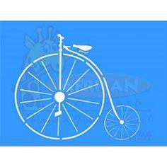 Stencil Bicicleta 15x20 - OPA