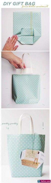 Lots of gift wrapping ideas
