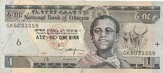 Etiopia. 1 birr