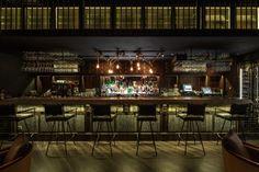 Mott 32 restaurant by JOYCE WANG, Hong Kong » Retail Design Blog