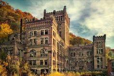 Abandoned coal mine buildings of Hasard Cheratte, Liège province, Belgium #castle