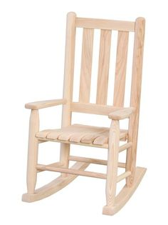 Amish Ash Wood Cottage Child's Rocker Delightful for the kids to enjoy. Made with solid ash wood. Choice of 18 paint and finish colors or you can leave this rocker unfinished.