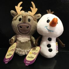 437f5218a57 Hallmark Sven and Olaf Disney Frozen Itty Bittys - If you need a Tsum Tsum  Plush