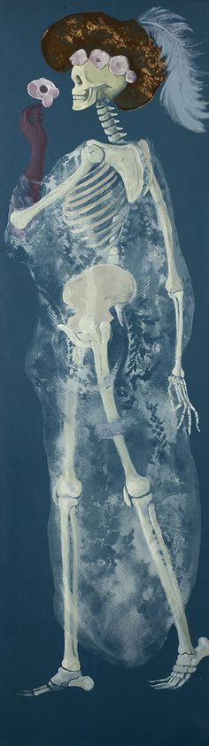 Leonor Fini (Argentine-French, 1908-1996)The Metamorphosis of a Woman, N/D 159 x 48 cm