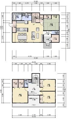 Floor Plants, House Floor Plans, My House, New Homes, Japan, Flooring, How To Plan, Interior Design, Architecture