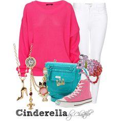 """Cinderella"" by disneybychantelle on Polyvore"