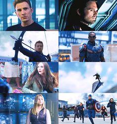 • Team Cap • Captain America: Civil War