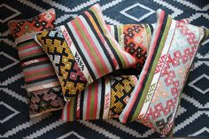 Spring is in the air so start thinking of spring decor.  What a great way to freshen up for Spring with ethnic home decor and vibrant colors. The Balikesir collection of Turkish kilim pillows will brighten your room - an effective way to make a statement in any room of your house. Hot color trends for this spring include green, royal blue, turquoise and all shades of pink.
