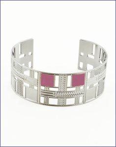 73839a993c7 Frank Lloyd Wright Willits Skylight Cuff Bracelet Metal Jewelry
