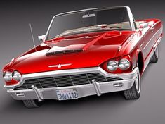 1965 Thunderbird Maintenance of old vehicles: the material for new… Lamborghini, Ferrari, Bugatti, Ford Motor Company, Jaguar, Peugeot, Porsche, Convertible, Old School Cars