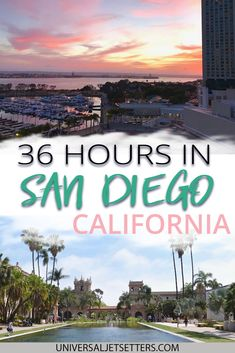 These top things to do in San Diego California are perfect for a quick 36 hour stop. Covering the best food beaches and photo spots both downtown and on the coast these are things you cant miss in San Diego. - Travel San Diego - Ideas of Travel San Diego San Diego Vacation, San Diego Travel, San Diego Trip, Usa Travel Guide, Travel Usa, Travel Checklist, Travel Guides, Travel Tips, California Travel