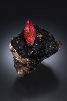 Rhodochrosite Uchucchacua mine, Lima, Peru