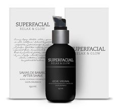 We had to develop the identity and packaging of a line of products for Superfacial, a brand of skin care products. Superfacial's products are 100% organic, highly effective and can be used by both women and men. The brand wants to be conceived as honest, accessible, natural, unisex, premium and almost clinical - Sebastian Castro, Colombia