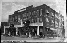 Hotel Damron, Mineral Wells, TX, 1918.