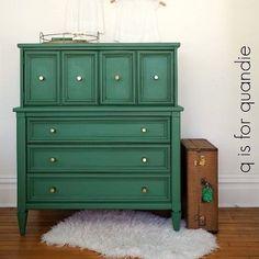 Bon Green Painted Dresser.