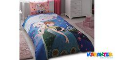 Bütün Kızların Odaları Frozen Elsa Nevresim ile Daha Derli Toplu!