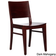 @Overstock.com - Danish Side Chair (Set of 2) - This stylish dining chair set features durable construction and a distinctive modern design. Beautifully crafted from beechwood, this handsomely elegant chair set provides a welcome addition to any dining room decor or design scheme.  http://www.overstock.com/Home-Garden/Danish-Side-Chair-Set-of-2/8201346/product.html?CID=214117 $230.99