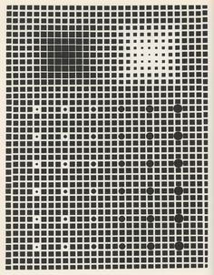 Victor Vasarely. Untitled composition.