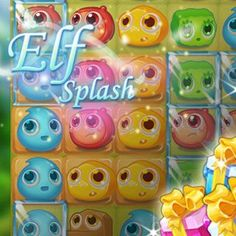 Free Match-3 Browser Game - Elf Splash is a colorful match 3 puzzle game in which you will help the cute elves to progress through the game levels. #browsergame #freegames #gaming #match3 #game #webgame Free Match, Match 3 Games, Splash Free, The Elf, Free Games, Elves, Puzzle, Gaming, Colorful