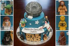 Justin's 6th Birthday:   Lego Star Wars Cake