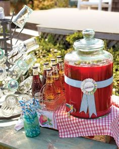 "See the ""Alcohol-Free Options"" in our Cocktail Hour Ideas from Real Weddings gallery"