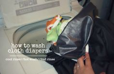 How to Wash Cloth Diapers // prefolds + pul covers Wash Cloth Diapers, Cloth Nappies, Cloth Diaper Covers, Baby Family, Baby Halloween, Baby Patterns, Baby Wearing, Washing Clothes, Baby Fever