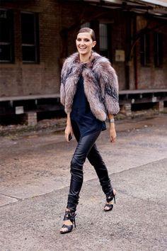Fake Furs: Pele falsa está em alta em Paris