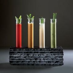 Zieher Slate Test Tube Stand from Touch of Modern