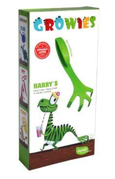 GROWIES, Harry's Kinder Harke mit Clip, iGADU Gartenspielzeug