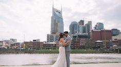 Nashville Wedding | Bride and Groom | The Bridge Building #exploreinfinitenashville