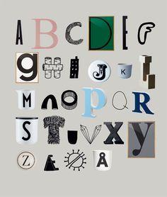 Meyer-Lavigne - design alphabet