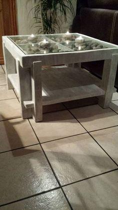 """Table Basse """"Souvenir de mer"""" : beaucoup de details"""