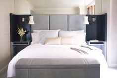 David Collins master bedroom idas, interior design, luxury design, for more inspirations and ideas visti:http://www.bocadolobo.com/en/inspiration-and-ideas/