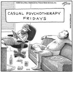 Casual psychotherapy.