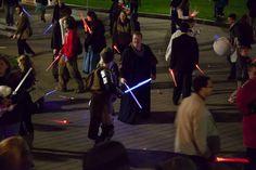 Lightsaber Battle Hal-Con 2014 - photo credit Dan Miner