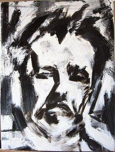 Franz Kline, Self Portrait on ArtStack #franz-kline #museumweek