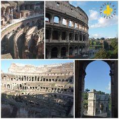 Rome voyage en famille Colisée visite avec enfant