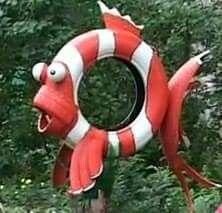 Tire fish