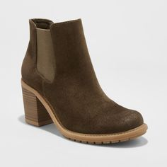 Winter Boots Merona Adalia Olive (Green) 9.5