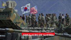 EEUU inicia simulacro de guerra  (Global Thunder (Trueno Global)