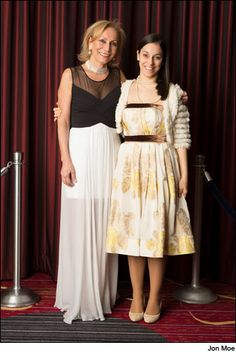 A beautiful mother and daughter. Marilisa and Caterina Allegrini.