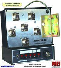 Rcs-4l Rcs4l Ameritron X Remote Coax Switch 4 Positions W Lightning Prot 1.5-54 MHz 650619014853