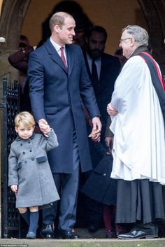 The Duke & Duchess of Cambridge and their children attend Christmas church service in Berkshire 25 DEC