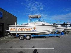 TROPHY 2352 WALKAROUND SERIOUS FISHING AND DIVING RIG, PLENTY OF | Motorboats & Powerboats | Gumtree Australia Wanneroo Area - Wangara | 1125939390 Used Boat For Sale, Boats For Sale, Used Boats, Power Boats, Perth, Rigs, Diving, High Speed, Boats