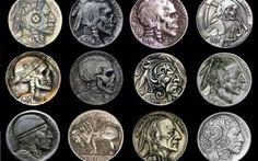 Hughes e l'arte numismatica dei senzatetto #scultura #numismatica #arte #statiuniti