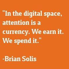 #SocialMedia -  they new currency!