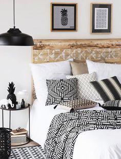 Interiorismo, blanco y negro