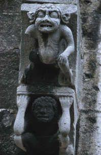 Gargoyles , Chartres , France