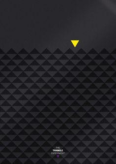 The Triangle ExperimentIdea + Art Direction + Graphic Design + Print.
