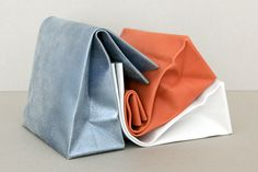 leather clutches by adaısm